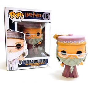 Фигурка Альбус Дамблдор в стиле Pop (Гарри Поттер)