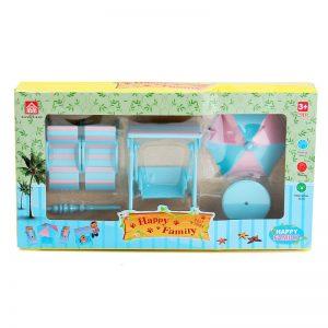 Мебель для кукол на пляже Хэппи Фэмели Happy Family