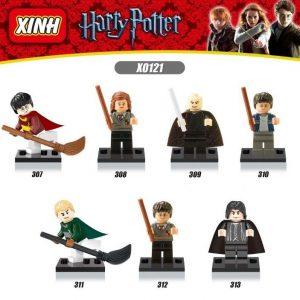 Набор из 7 лего-фигурок Гарри Поттер (без коробки)