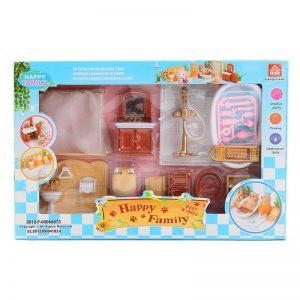 Кукольная мебель - Роскошная Ванная Happy Family