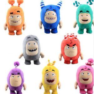 Чудики Oddbods набор из 7 мягких игрушек (18-20 см), цвета в ассортименте