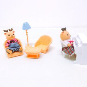 Мебель для кукол Зал с пианино Хэппи Фэмели Happy Family