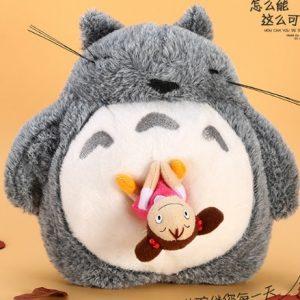 Спящий плюшевый Тоторо с куколкой Мэй Кусакабэ (храпит!)