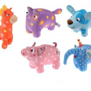 Деревяшки набор из 5 мягких игрушек