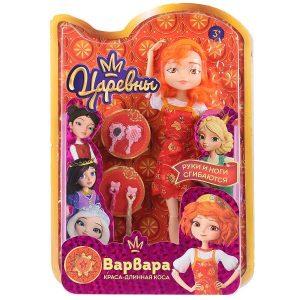 Кукла из мультфильма Царевны: царевна Варвара 29 см с аксессуарами, лицензия