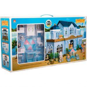 Кукольный домик Happy Family Большая Вилла на морском берегу