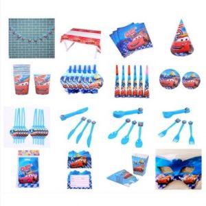Набор украшений для праздника в стиле Тачки (136 предметов)