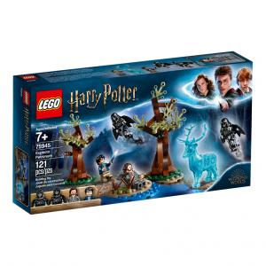 Конструктор Гарри Поттер Экспекто Патронум LEGO 75945, 121 деталь